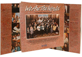 We Are the World Album cover