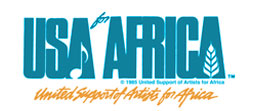Logo and Link USA for Africa home page